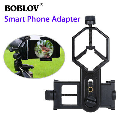 BOBLOV CM-4 Cellphone Adapter Mount Telescope Spotting Scope Holder For iPhone