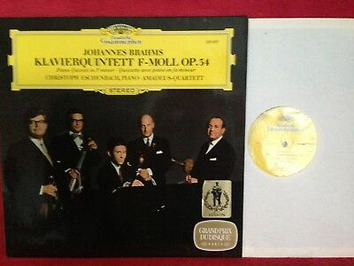 DG 139 397 Brahms Piano Quintet Amadeus Quartet Eschenbach N/M German Press