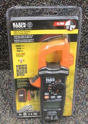 NEW Klein Tools CL700 600A AC Auto-Ranging Digital Clamp Meter