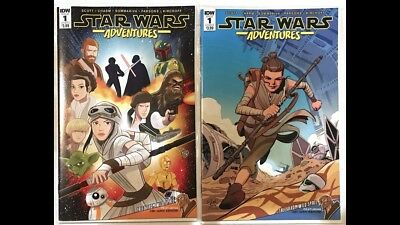 Star Wars Adventures #1 Cover A & Cover B