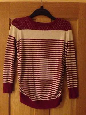 Long sleeve maternity jumper by Red Herring - size 10
