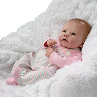 Elizabeth So Truly Real Weighted and Poseable Baby Girl Doll By Linda Murray