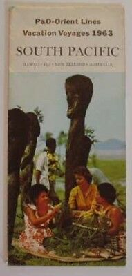 P&O SOUTH PACIFIC VOYAGES Brochure