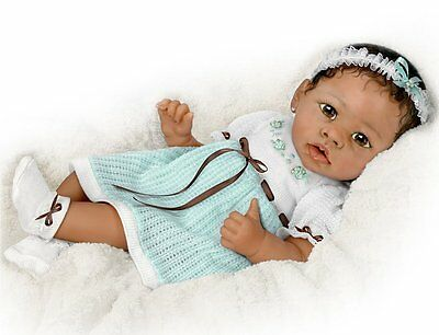 Ashton Drake Alicia Gentle Touch Interactive Baby Girl Doll by Linda Murray