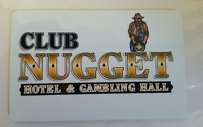 Pahrump Nugget Hotel and Casino Players card
