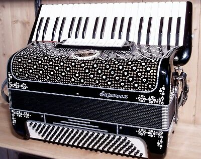 Ranco 120 bass  musette accordion serviced and tuned. Powerful hand made reeds.