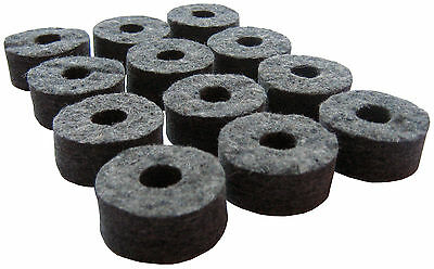 Cymbal Felt Washers - Pack of 6, 12 or 24 (drum kit stands)