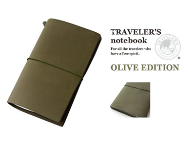 Olive Edition Travelers Notebook Authentic Midori Brand 2017 New in Package