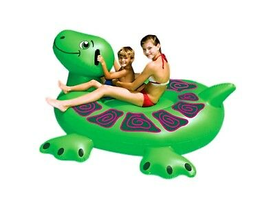 Swimline 90622 Giant Inflatable Ride-On Float Turtle 90622 For Swimming