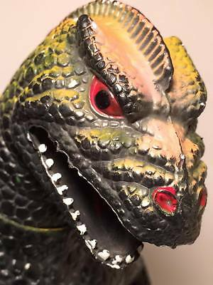 """Vintage Godzilla 1986 Action Figure Dor Mei Made in China 14"""" Tall"""