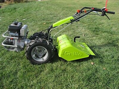 "Grillo G107D 2-Wheeled Tractor/Tiller With 27"" Tiller Implement MADE IN ITALY!"