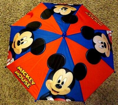 Disney Mickey Mouse Umbrella - RED YELLOW BLUE WHITE BLACK 83023
