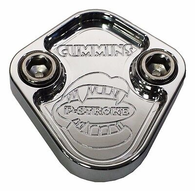 84-87 Grand National 231 3.8 V6 Timing Cover Fuel Pump Block Off Plate /& Gasket