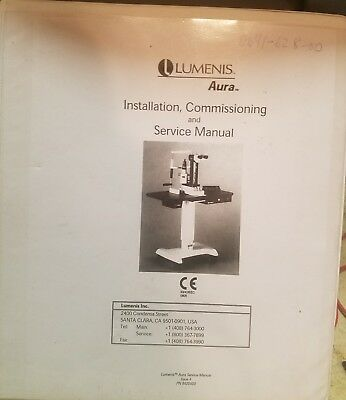 Lumenis Aura Installation,Commissioning and Service Manual.
