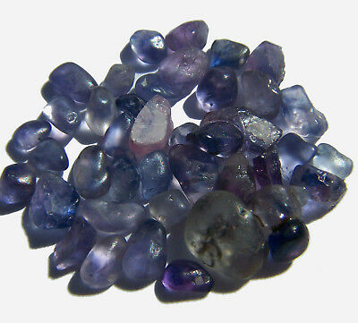 SAPPHIRE FACET ROUGH LOT 100% Natural BLUE COLOR Untreated Earth-Mined USA
