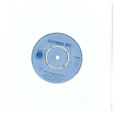 """7"""" 45RPM Need Your Love So Bad/No Place To Go by Fleetwood Mac from Blue Horizon"""