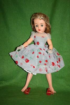 Vintage Ideal Miss Revlon Vt-20 Deluxe Cherries A La Mode Doll Must See! Rare