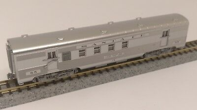 Santa Fe ATSF RPO passenger car mail railway post office baggage  KATO N scale