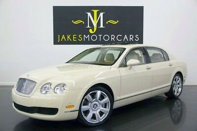 2007 Bentley Continental Flying Spur Sedan**ONLY 16K MILES** 2007 Bentley Continental Flying Spur, MAGNOLIA ON MAGNOLIA, ONLY 16K MILES!