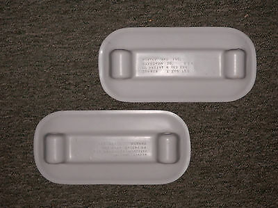 Dinghy grey rubber pads for inflatable,by Weaver Marine.Lifetime Warranty. USA