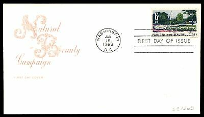 Mayfairstamps US FDC 1969 NATURAL BEAUTY CAMPAIGN FOR CITIES FARNAM SC 1365 UNSE