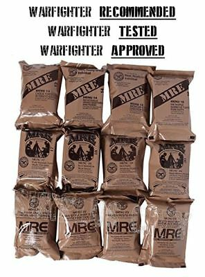 Freshest 2019 MREs Around! Genuine US Surplus MRE Lot of 1, 4, and 6