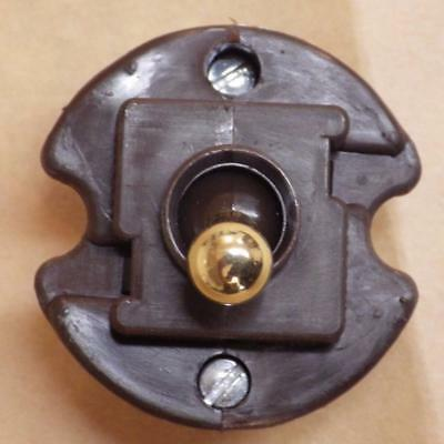 replacement Clipsal toggle switch mechanism,brass/porcelain,intermediate/3 way