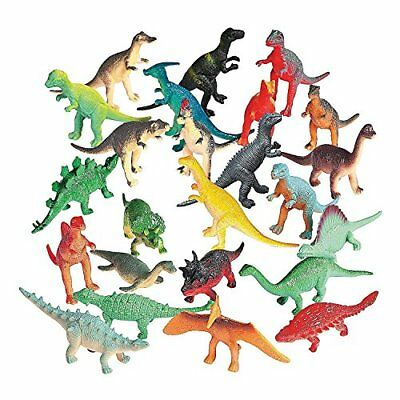 Vinyl Mini Dinosaurs 72 count