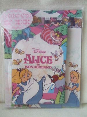 Disney Alice in wonderland letter set NEW