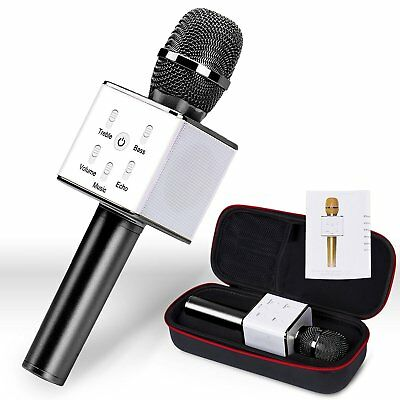 Portable Karaoke Wireless Microphone with Speaker Mic KTV Machine for Singing