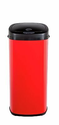 Morphy Richards 50 Litre Sensor Bin - Red. From the Official Argos Shop V100883