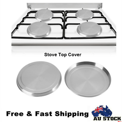 4pcs Stainless Steel Stove Top Covers Kitchen Element  Burner Protectors Covers