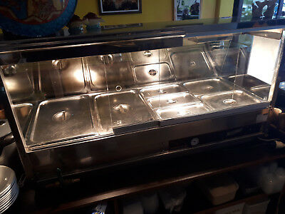 Bain Marie WOODSON Hot Food Display Cabinet