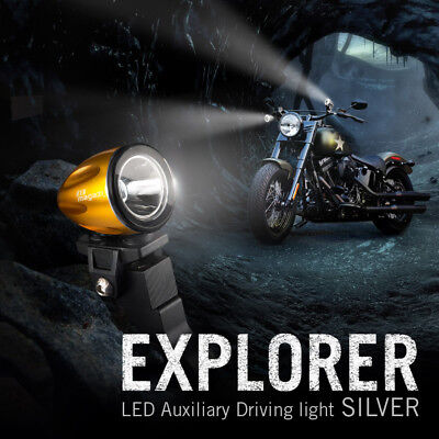 mini LED lampe spot feu de route d'or 22-25mm dia. fork pour Toyota FJ Cruiser
