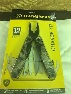 NEW Leatherman Charge TTI Camo with Nylon Sheath Multi-Tool 832323