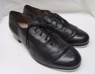 BLOCH MENS TAP Dance SHOES Size 7 Black Leather