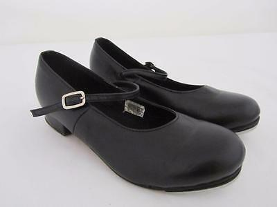 Black TAP Dance SHOES Ladies Size 6.5 Exc Cond