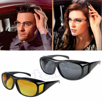 Night Driving Glasses Anti Glare Vision Driver Safety Glasses Polarization New