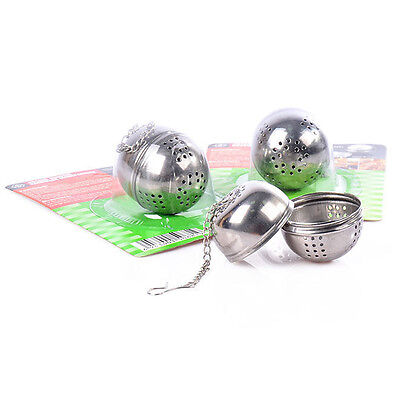Strainer Filter Herb Diffuser Stainless Steel Loose Tea Leaf Infuser Ball Tool