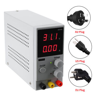 30V 5/10A Adjustable LED Display DC Power Supply Switching Power  AC110/220V SG