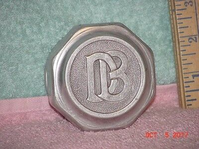 VINTAGE DODGE BROTHERS THREADED GREASE HUB WHEEL CAP 1910 s 1920 s EXC COND