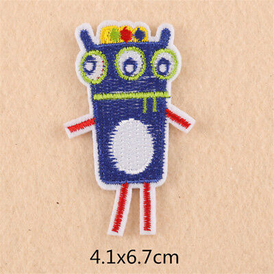 Embroidery Sew On Iron On Patch Badge Transfer Fabric Bag Clothes Applique Craft