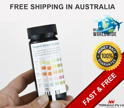 100 Urine Test Strips Ketone pH Glucose BloodProtein Urinary Tract Infection UTI