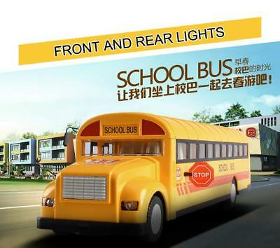 RC Kid Toys 2.4G Remote Radio Control Simulation School Bus For Birthday present