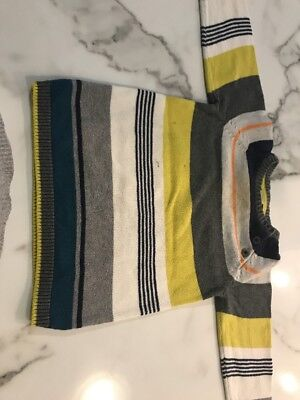 Boys Stripe Jumper. Size 2