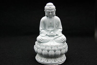 Lotus Buddha, Silicone Mold Chocolate Sugar Polymer Clay Soap Candle Resin