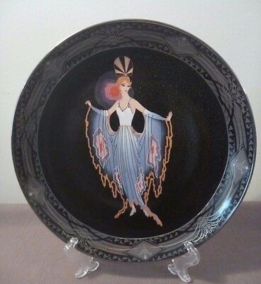 Royal Doulton 'ERTE' 'Twilight' Franklin Mint, Limited Edition Collector plate