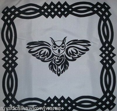 12x  Celtic Owl Altar Cloths/Placemats/Wall Hangings