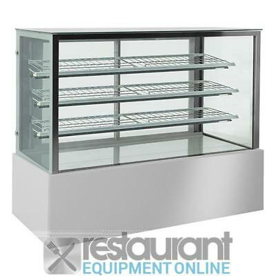 F.E.D Squared glass hot food display four levels display CSH-1200R3