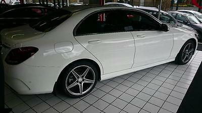 Mercedes C Class Amg Sport W205 Fully Tailored Mudflaps